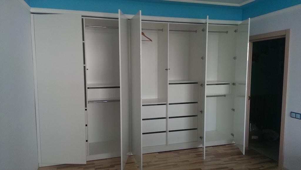 Шкаф распашной с tip on галатея мебель.